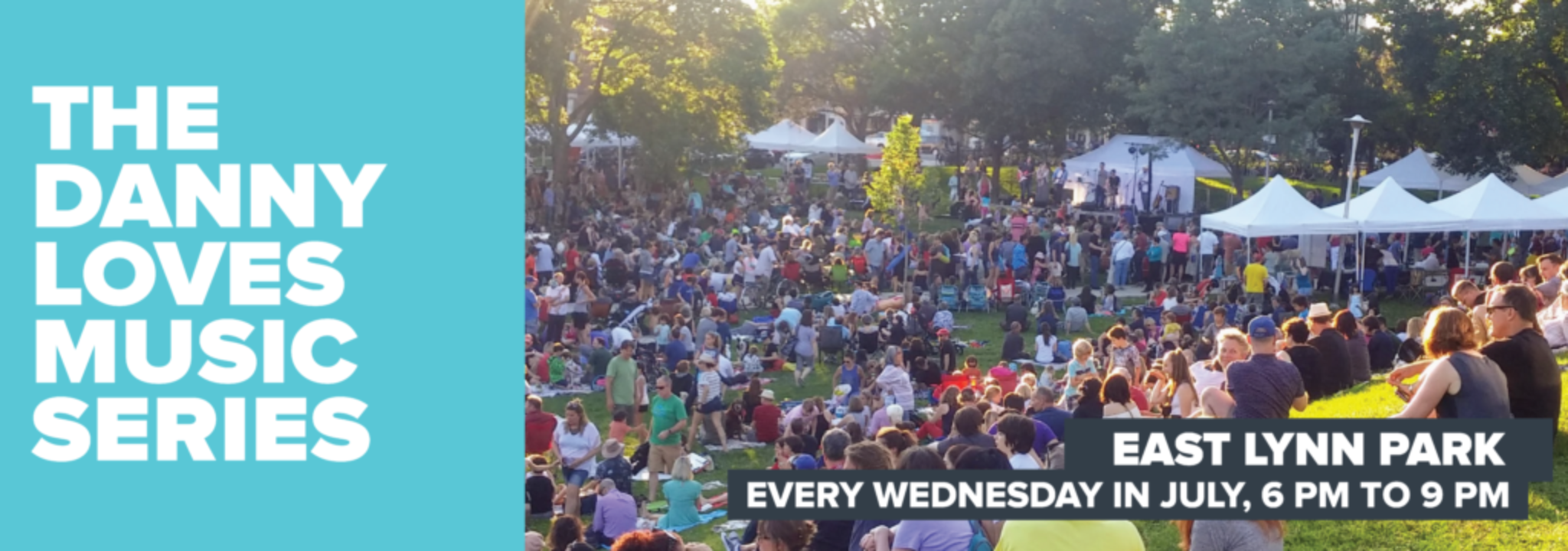 The Danny Loves Music Series - East Lynn Park - Canada Day and Every Wednesday in July. July 01 2016: Canada Day - Main Act: Julian Taylor Band - Opening Act : Simone Denny. July 06 - Paul Reddick. July 13 Stephen Stanley. July 20. Byrds! Byrds! Byrds!. July 27 - Main Act: Ted Peters